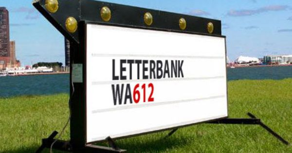 "Marquee Readerboard 8/"" Sign Letters /& 10 piece Sign Track Kit"