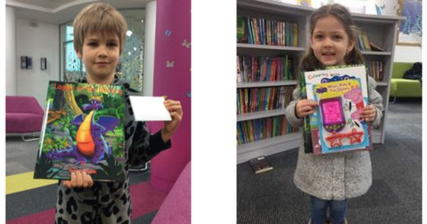 Kingston Library Concrete Cow Colouring Competition Winners