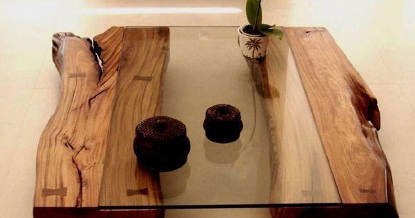 15 Tavoli In Legno Naturale Molto Originali Houtwerk Pinterest Woods
