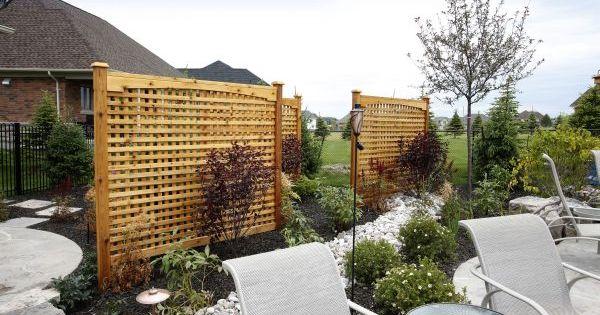 Corner Fence Landscaping Ideas Landscaping Fences