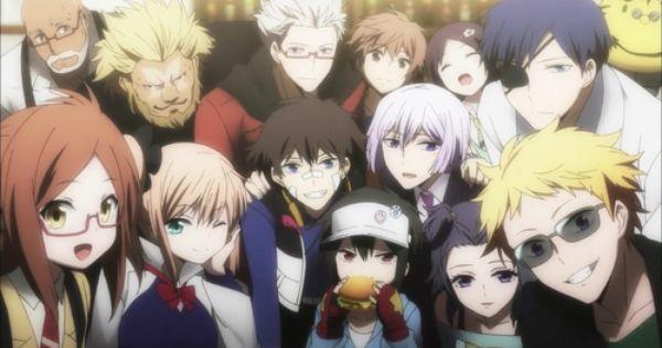 Re Hamatora Hamatora Anime Anime Shows
