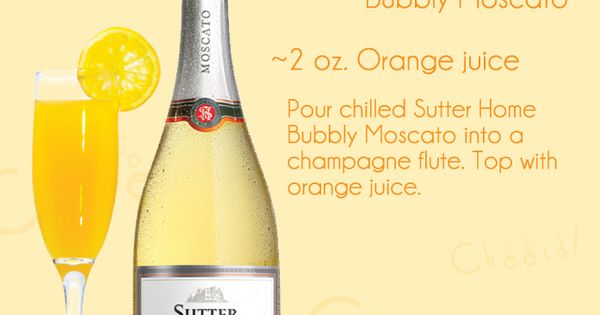 Sutter Home Blog » Blog Archive » Sutter Home Wine Cocktail: Bubbly