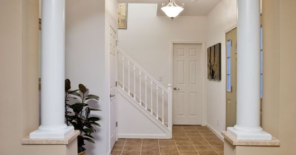 Modular Home With Foyer : Formal foyer entry way in the stonewall ns a manorwood