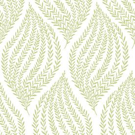 Brewster Wallcovering 30 Sq Ft Lime Vinyl Ivy Vines Peel And Stick Wallpaper Lowes Com Peel And Stick Wallpaper Brewster Wallcovering Nuwallpaper