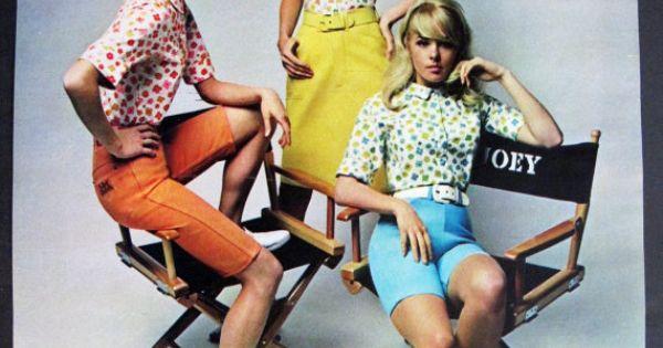 joey heatherton in sixties maverick fashion by