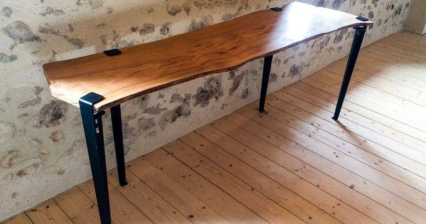 Pied De Table Design Pour Table Et Bureau 75cm Serre Joint Tiptoe Pied De Table Design Pieds De Table Table