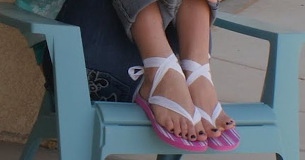 Make your own Ribbon sandals | Drama Queen Seams