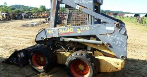 585 Hay Rake Parts : Used new holland ls skid steer loader parts eq