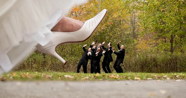 Hilarious picture on the wedding day
