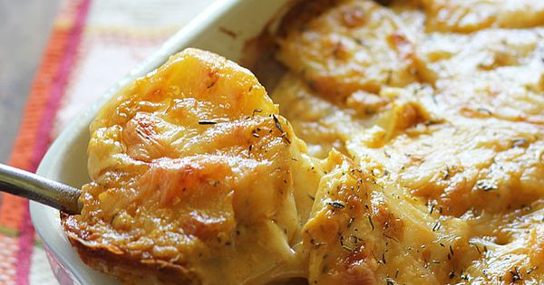 Check out Pumpkin Scalloped Potatoes. It's so easy to make ...
