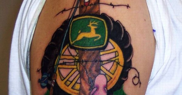 John Deere Tattoo Ideas : John deere tattoos tattoo fr o