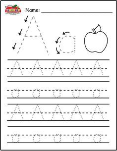Free Trace Alphabet Letters Printable Worksheets For Preschool