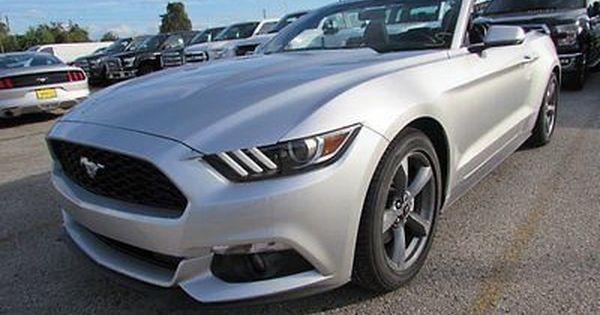 Ebay 2017 Ford Mustang V6 2017 Ford Mustang V6 5 Miles Silver Ford Mustang V6 2017 Ford Mustang Ford Mustang