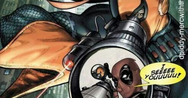Deadpool deathstroke and diff rent strokes on pinterest