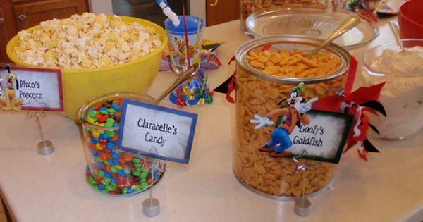 Cute Mickey party food ideas