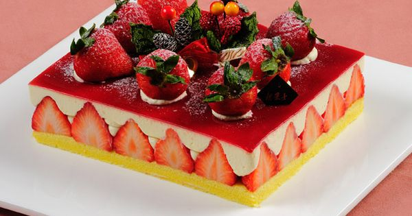Cake | Strawberry Cakes & Tarts | Pinterest | Strawberry Cakes ...