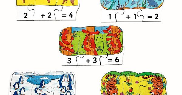 Goki Wooden Hands Puzzle 14 Piece