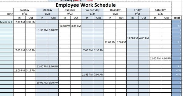 work schedule templates free downloads download links download employee work schedule excel. Black Bedroom Furniture Sets. Home Design Ideas