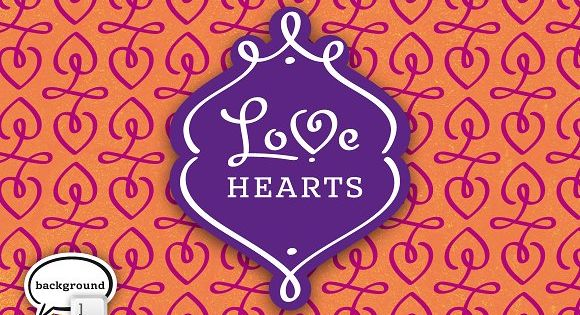 LoveHearts – A lovely valentine inspired set of calligraphic ornaments