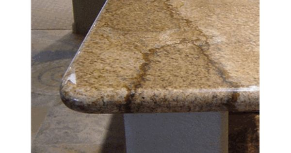 Double Roundover Edge Granite Countertop Edges Edge Profile Countertops