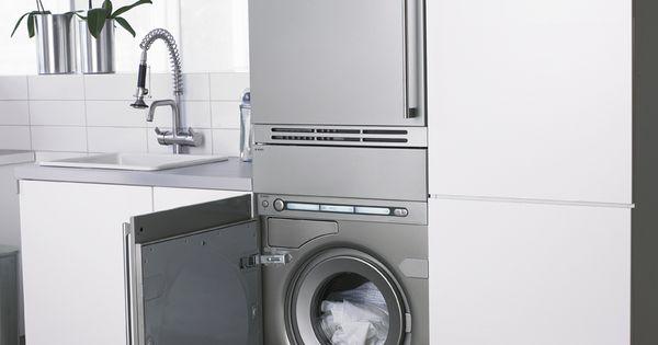 Asko integra la lavadora y la secadora en tu cocina lavadora en la cocina pinterest - Lavadora en la cocina ...