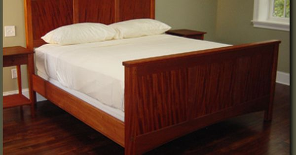 Mission Style Headboard Mission Style Mahogany Bed Custom Made