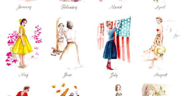 paperfashion calendar