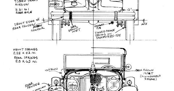 packard 734 boattail speedster  1930