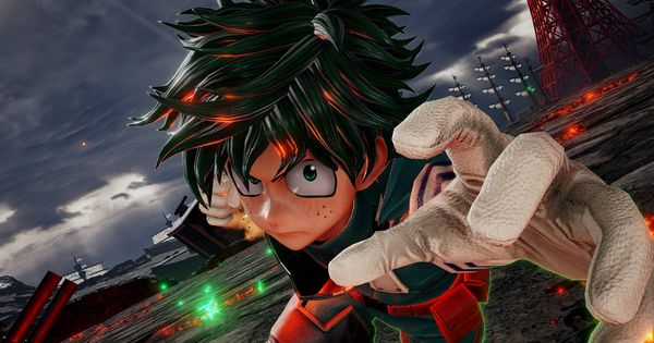 Izuku Midoriya De My Hero Academia Sera Lutador Em Jump Force My Hero Academia My Hero Hero