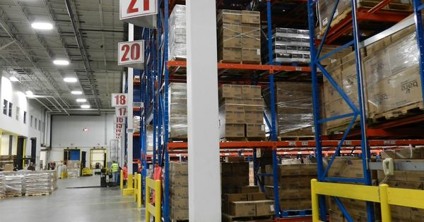 Warehouse Aisle Signs Barcode Label Barcode Labels For