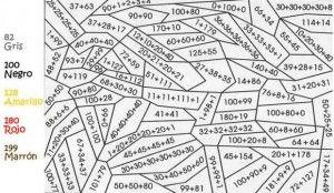 Colorear Haciendo Operaciones Matematicas Hojas De Trabajo De