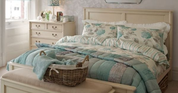 Laura Ashley hydrangea duckegg  Bedroom decorating  Pinterest  침실