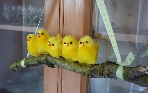 such a cute ides. use your imagination. you could make it with peeps ...