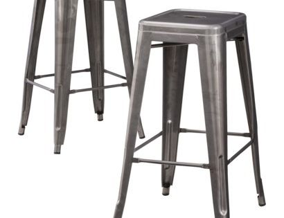 Carlisle Metal Bar Stool Set Of 2 For Under 100 Also