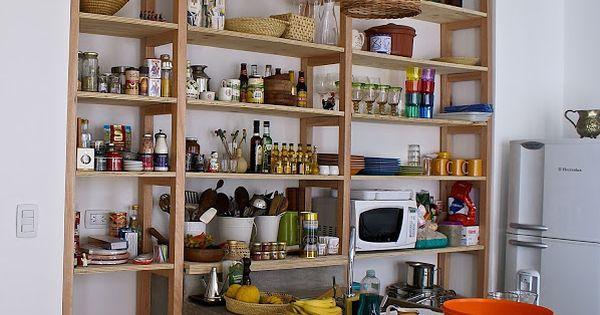 La estanter a para la cocina cocinas pinterest - Estanterias para la cocina ...