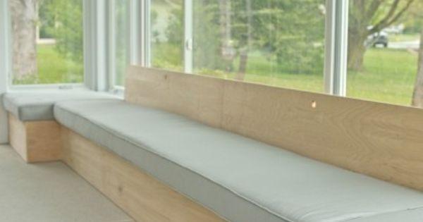 diy window bench seating