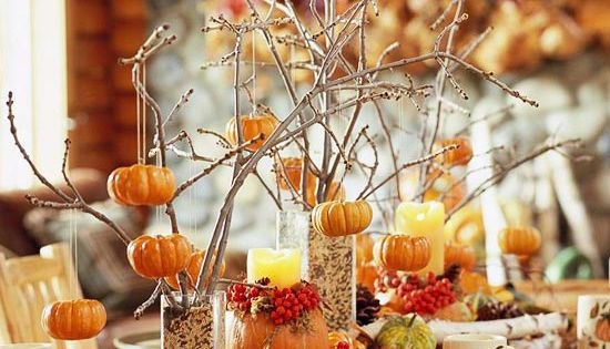 Autumn Tablescape / Thanksgiving Table / Fall Decor / - 26 Great