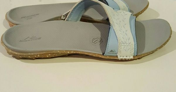 2fa73e35cfa2 New Montrail recyclonite sandals flip flops NWT