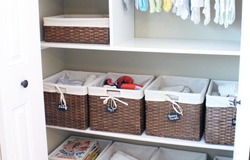 Dressing b b creations pour bebe pinterest for Organisation chambre bebe