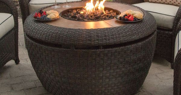 Jefferson gas fire pit 2015 agio fire pits collection for 7194 garden pond
