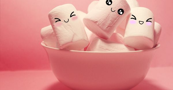 Cute Marshmallows By Koshadesing Deviantart Com On Deviantart Cute Marshmallows Wallpaper Iphone Cute Marshmallow Images