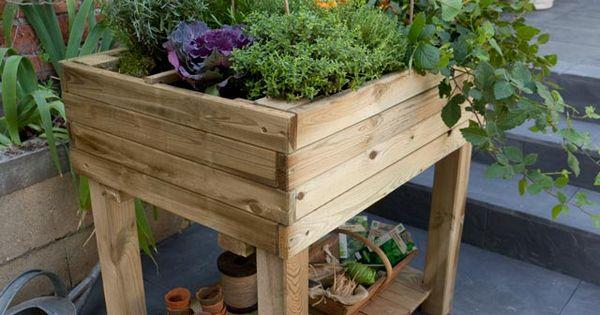 potager carr jardin pinterest. Black Bedroom Furniture Sets. Home Design Ideas