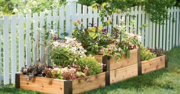 df999159297fd6744bb64b8c1e6222be - Greenland Gardener Cedar Garden Bed Kit