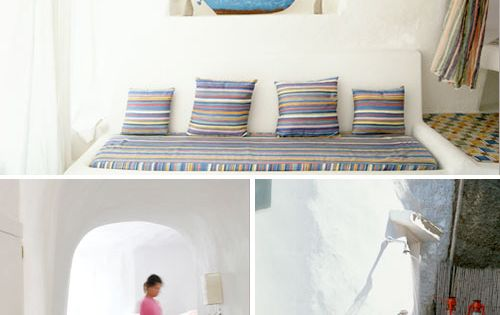 Une Agr Able D Coration M Diterran Enne House Pillows And Interiors