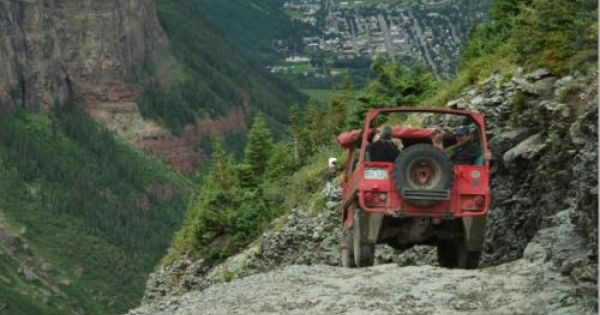 Off Road Tour Telluride Colorado Black Bear Pass The Most