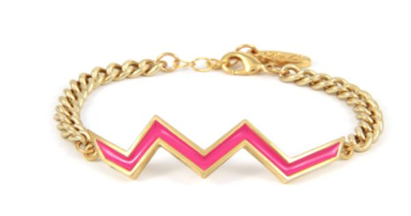 Aztec lightning bar bracelet