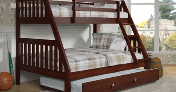 Twin Over Full Bunk Bed With Twin