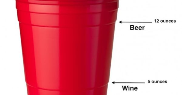 Red solocup- there are lines for a reason?! who knew?! ;) Red