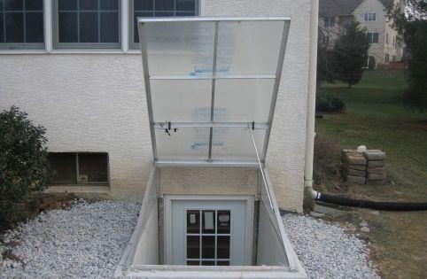 basement door polycarbonate bilco doors transparent bilco doors