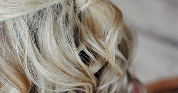 Half French Twist. cute for shorter hair!